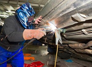 car body welding