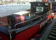 Fishing boat we use for fishing trips in Littlehampton