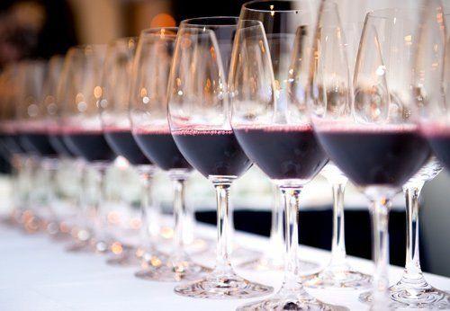Bicchieri di vino a Roma