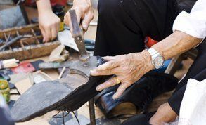 Craftsman shoe repairs in Edinburgh