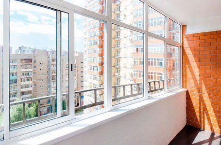 Остекление балкона гмс-1.