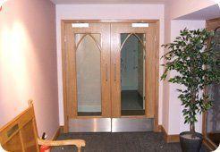Building service - Aberdeen, Aberdeenshire - Burns Construction (Aberdeen) Ltd - Door exit