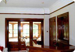 Door fitting - Aboyne, Aberdeenshire - Burns Construction (Aberdeen) Ltd - doors