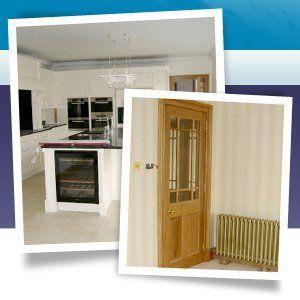 Building service - Aberdeen, Aberdeenshire - Burns Construction (Aberdeen) Ltd - Kitchen and door