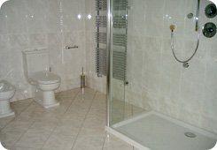 Building service - Aberdeen, Aberdeenshire - Burns Construction (Aberdeen) Ltd - Bathroom shower