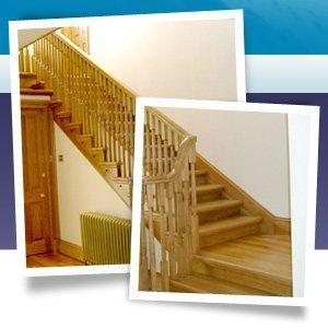 Joinery service - Ellon, Aberdeenshire - Burns Construction (Aberdeen) Ltd - wood stairs