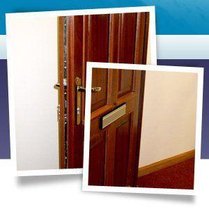 Property maintenance - Westhill, Aberdeenshire - Burns Construction (Aberdeen) Ltd - wood door