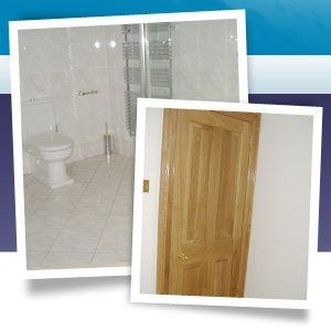 Building service - Aberdeen, Aberdeenshire - Burns Construction (Aberdeen) Ltd - shower room and door
