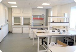 Building service - Aberdeen, Aberdeenshire - Burns Construction (Aberdeen) Ltd - Laboratory