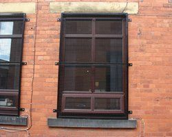 Mesh Grille Shutters