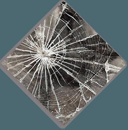 cracked windows