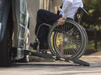 transportation for physically disabled person