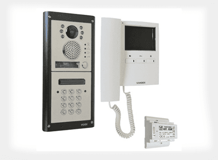 Audio door entry system