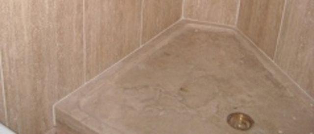 Dettaglio piatto doccia