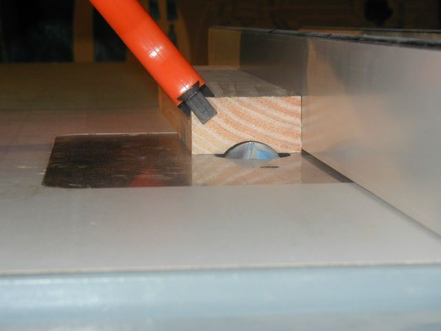 router table push stick