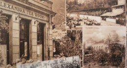 vista laterale di vecchia edificio di Ristorante Alexandra