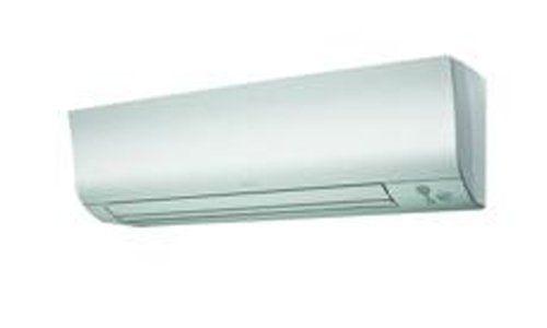 climatizzatore bianco con deflettori chiusi