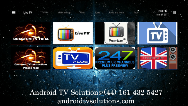 Android / UK TV in Spain