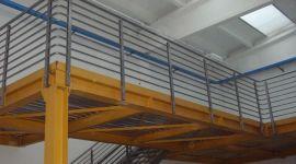 soppalco industriale, struttura in ferro per l'industria, struttura in ferro per capannoni
