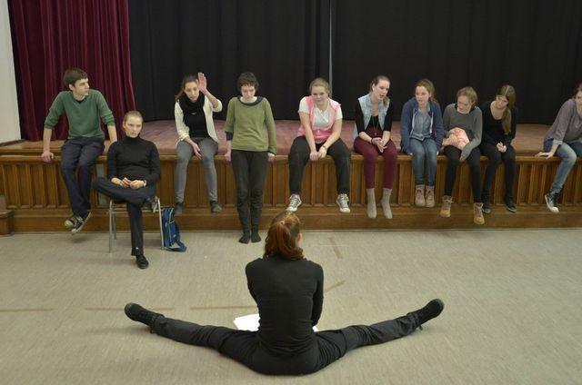 Unterricht in der Theaterei Berlin