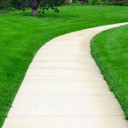 sidewalk path