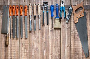 a wide range of tools