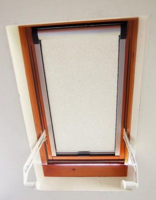 manual blind for skylights