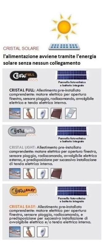 allestimento cristal solare