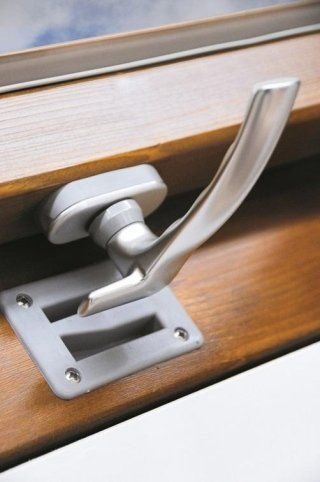 installation of handles for Luxin loft windows