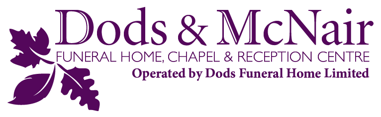 dods mcnair funeral home chapel reception centre