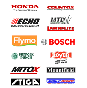 mower - Stirling - Russell Gas & Mower Centre - Site logos