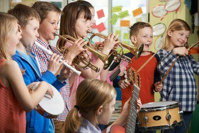 banda di bambini musicisti