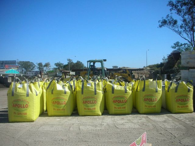 bulk bags for delivering landscaping products