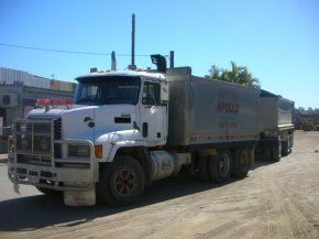 large tip truck 8 to 16 cubic metres