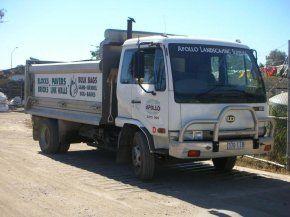 medium tip truck up to 8 cubic metres capacity