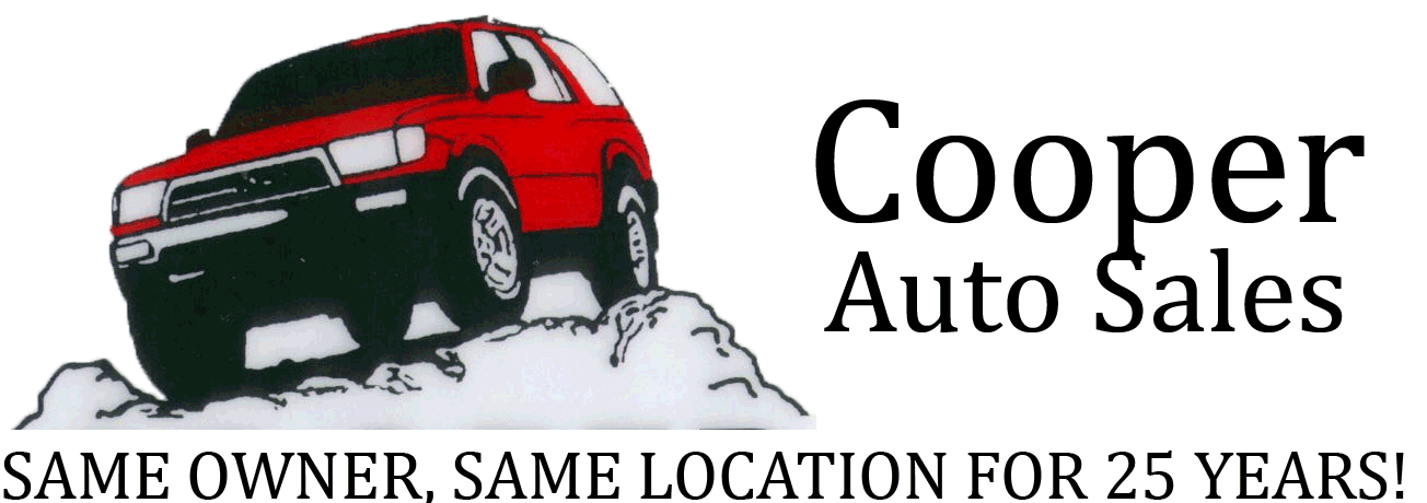 Cooper Auto Sales, Used cars, car rentals, used trucks, used SUV and used Recreational Vehicles