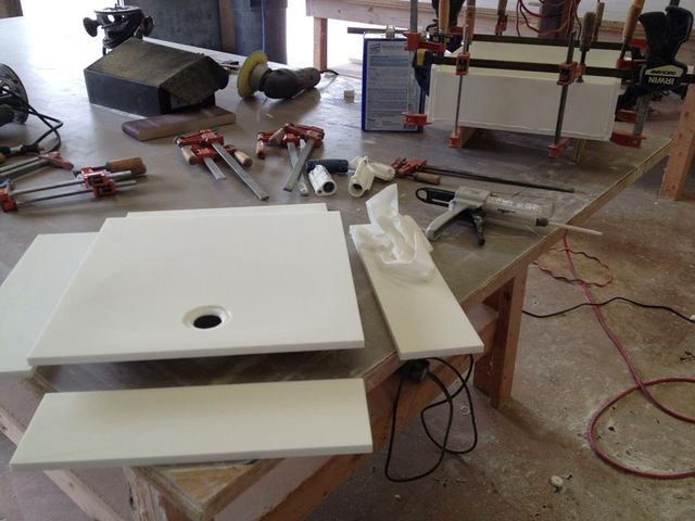 Each Shower Pan Custom Built By Our Fabricators Is Made To Your  Specifications No Matter What Shape Or Size.