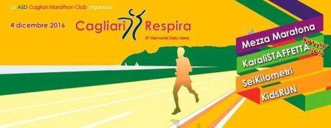 Cagliari Respira 2016 - Corsa e solidarietà