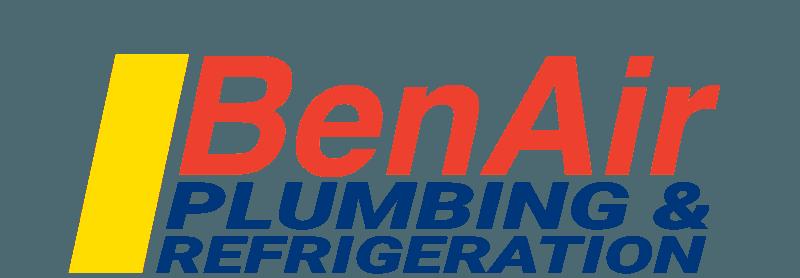 benair plumbing and refrigeration logo