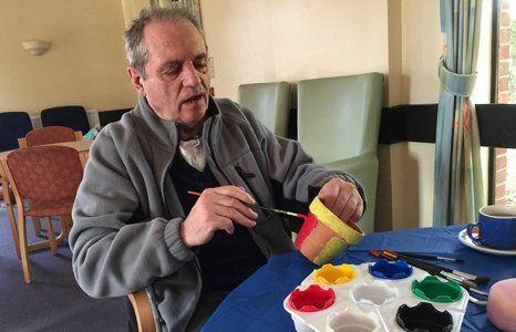 Art and craft sessions for the elderly