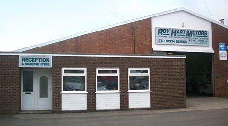Roy Hart Motors showroom