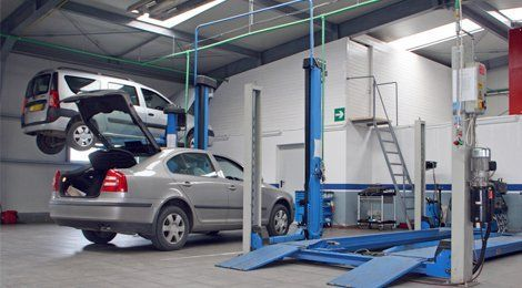 car MOT centre