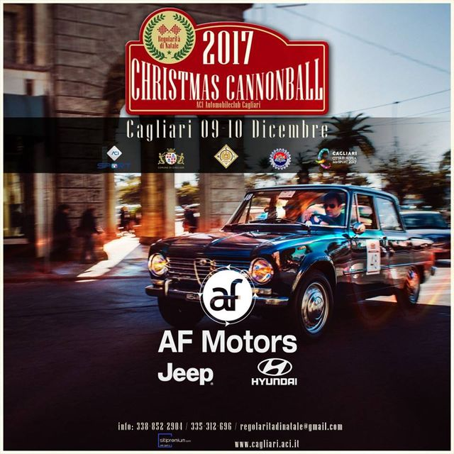 Christmas Cannonball 2017