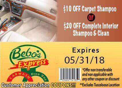 Car wash wax vacuums mobile al bebos car wash 10offcarpetinterior 2016lg solutioingenieria Images