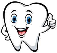 Disegno dente che fa OK
