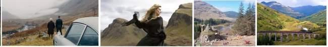 film locations across Scotland