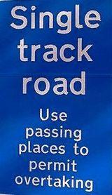 single track roads