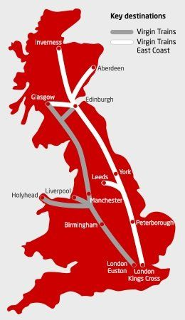 Virgin Rail Network