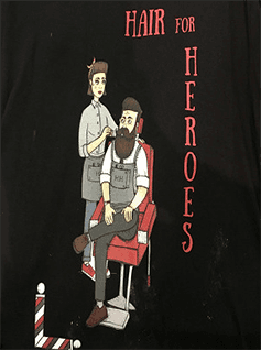 PARRUCCHIERIA HAIR FOR HEROES - LOGO