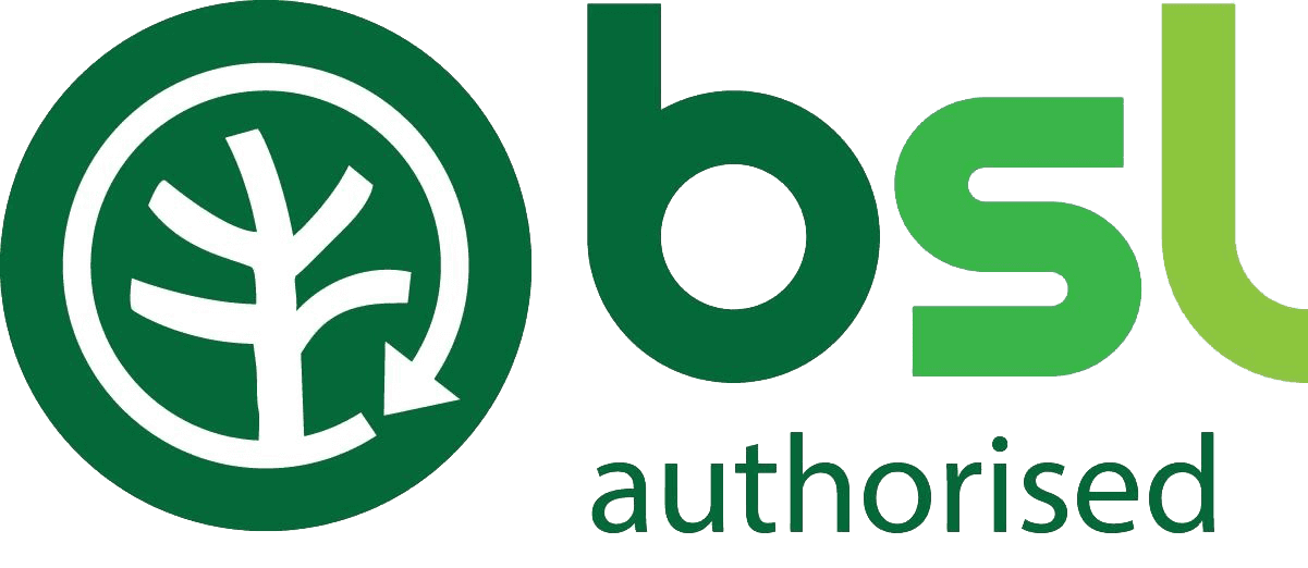 BSL authorised logo